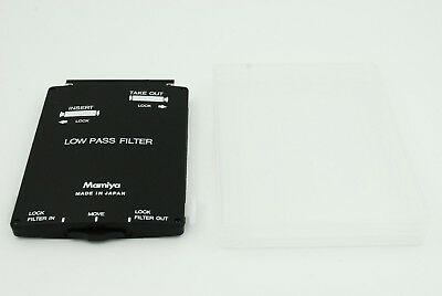 【TOP MINT】 Mamiya YC301 ZD BODY LOW PASS FILTER for Mamiya ZD From Japan 2174