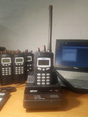 Harris P7170IP P7100IP VHF  Radio P25 Trunking AES 256 Provoice 1-40 Features