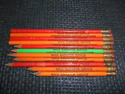 WICK RADIATOR SERVICE ADVERTISING PENCIL Lot 11 Youngstown Ohio Alex Elseg