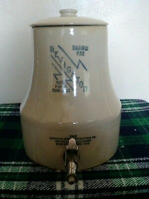 ANTIQUE REVIGATOR RADIUM WATER DISPENSER CROCK EXCELLENT CONDITION! Uranium