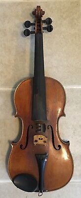 Antique John Markert New York Fine Violin Circa 1922 W/ Hard Case