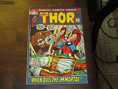 Thor #198 Marvel Bronze Age Higher Grade New Thor Movie Coming Soon!