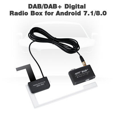 CHEYOULE DTR-130 DAB/ DAB+Active Antenna DAB+Receiver Digital Audio Broadcasting