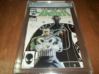 Punisher Limited Series #3 Pgx 9.2 White Pgs. Mike Zeck Art