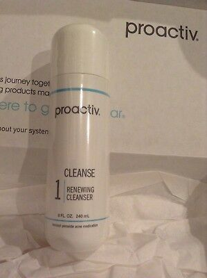 NEW & SEALED-Proactiv Renewing Cleanser 8oz-exp.2019