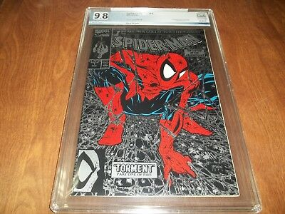 SPIDER-MAN 1991 SERIES #1 PGX 9.8 WHITE PGS. McFARLANE ART