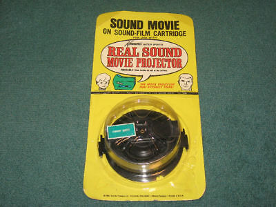 Vintage JONNY QUEST Kenner Real Sound Movie Projector FILM Hanna Barbera MIP