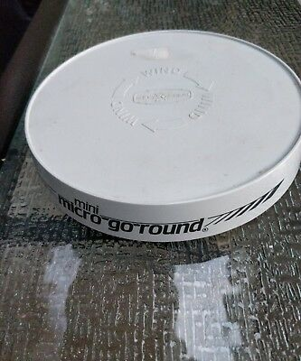 Nordic Ware Mini Micro Go Round Microwave Turntable Rotating Wind Up 8