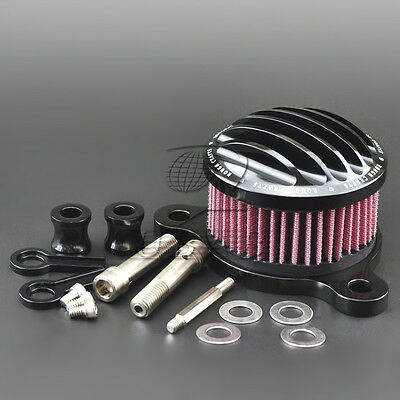 Air Cleaner Intake Filter System Kit for Harley sportster XL 883 1200 1988-2016