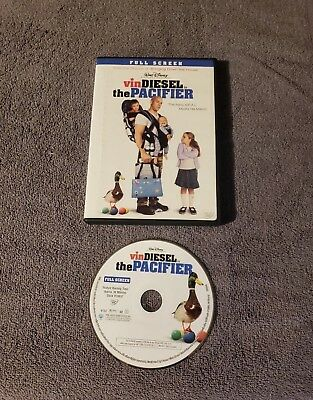 The Pacifier (DVD, 2006, Full Screen) 100% Complete! Free Shipping!