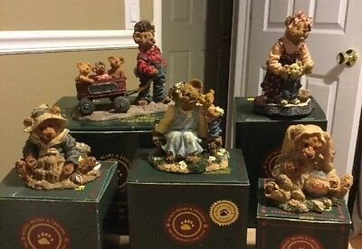 Boyds Bears Figurines First Edition/Special Occasion Lot Of 5