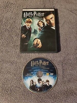 Harry Potter and the Order of the Phoenix (DVD, 2007, Full Screen) 100% Complete