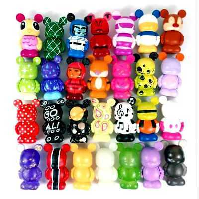 random 5Pcs Disney Vinylmation monster Junior JR Mickey 1.5'' figure baby dolls