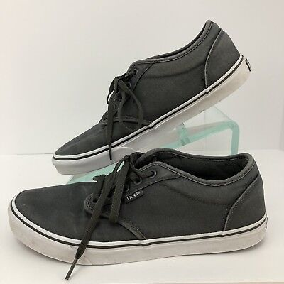 bbb6905e75 Vans SIZE 10.5 US Off The Wall Grey Skateboard Sneakers 500714 Mens Shoes
