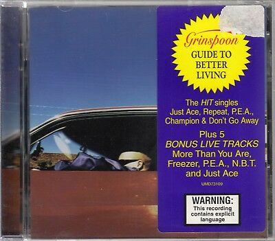 GRINSPOON - Guide to better living with 5 Bonus Live Tracks - CD 1997