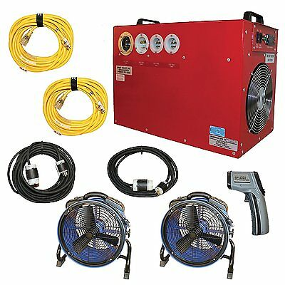 Professional Bed Bug Heater System, Heat Treatment Kills All Bed Bugs in 6-8 Hrs