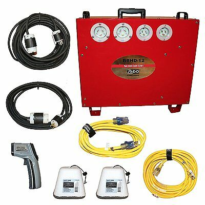 Industrial Bed Bug Heater 12L 277v  Entire Hotel Package!