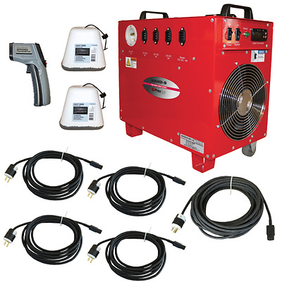 Professional Package for Hotel / Motel Bed Bug Heater System
