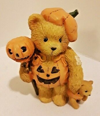 Cherished Teddies BREANNA Pumpkin Patch Pals 617180 Enesco 1994 Priscilla Hillma