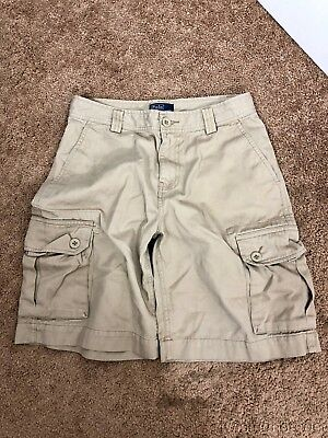 Polo by Ralph Lauren Size 14 Cargo Shorts Tan Chino Pre-Owned