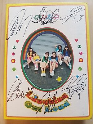 GFriend signed LOL Laughing Out Loud NO photo card wYERIN Post card &umji letter