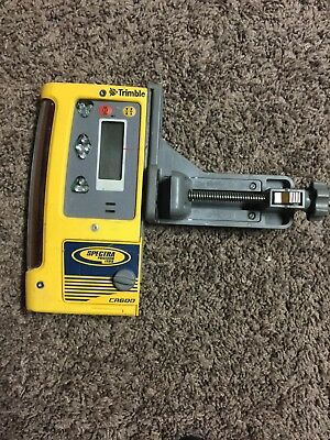 Used Spectra Precision CR600 Laser Receiver w/ Rod Clamp. ON SALE