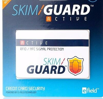 Skim Guard , Protect Your Credit Cards And Your Personal Information. Guarateed