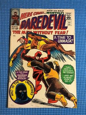 Daredevil #11 (1965 Marvel) The Organizer appearance Silver Age NO RESERVE