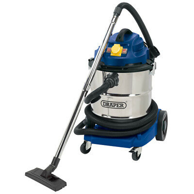 NEW 75443 50L 1500W 110V Wet & Dry Vacuum Cleaner with Stainless Steel Tank UK