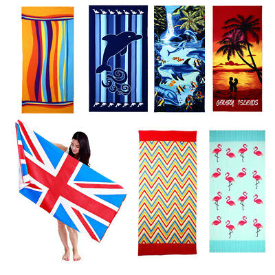 Hot Extra Large Ramesses Jacquard Beach Towels, 7 Kinds Patterns, 180x100cm