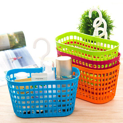 Bathroom Basket Hanging Shampoo Tower Storage Container Cosmetic Organizer D10F