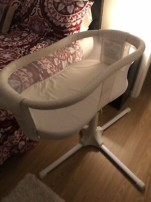 Baby Bassinest Infant Bed Newborn Swivel Sleeper Bassinet Essentia 360 degree