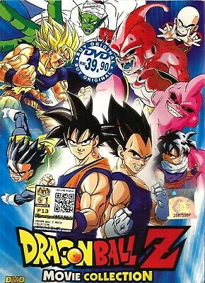 Anime DVD Dragon Ball Z 18 Movies Collection Complete Box Set