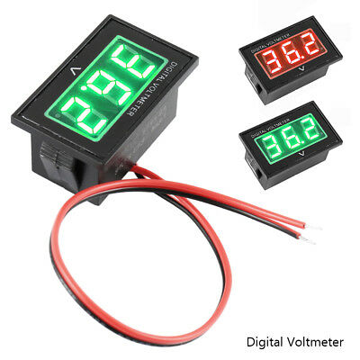 36V Golf Cart Digital Voltmeter Battery Gauge Club Car EZGO Yamaha 36 Volt Grün