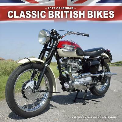 Classic British Bikes 2019 Calendar 15% OFF MULTI ORDERS!