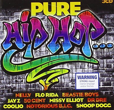 Various Artists - Pure Hip Hop [New & Sealed] 3 CDs