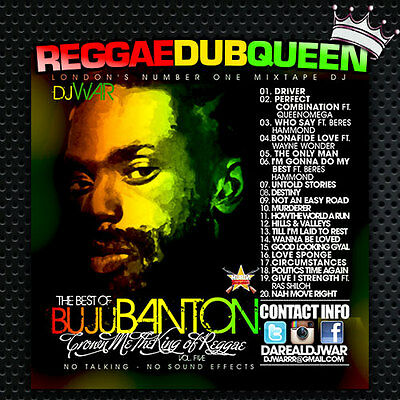 Crown Me The King Reggae 5 - Buju Banton Mixtape. Reggae Mix CD.