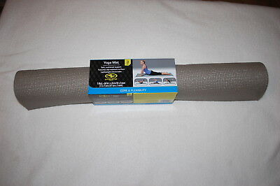 BCG Ombre Yoga Mat 4mm Thick Black// White