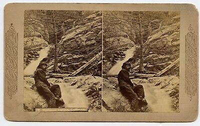 Wildwood Canyon San Bernardino County California Stereoview Photo