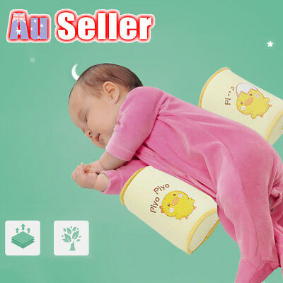 Infant Newborn Baby Head Anti Flat Roll Sleep Positioner Support Cot Pillow