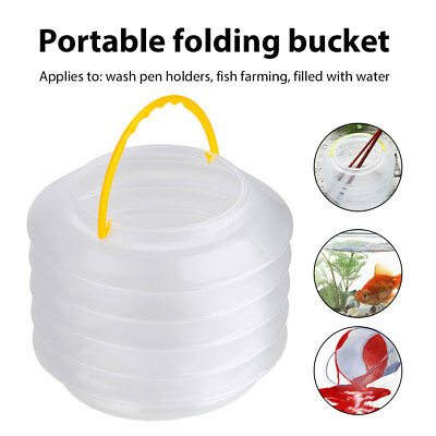 2018 Portable Multifunction Art Supplies Bucket Outdoor Cleaning Plastic C5AC