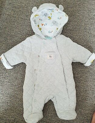 John Lewis Tiny Baby Snowsuit