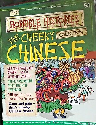 The Horrible Histories Collection Magazine #54 The Cheeky Chinese
