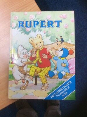 RUPERT. No 55. 70th ANNIVERSARY 1920-1990. ANNUAL WITH DUSTWRAPPER. H/B