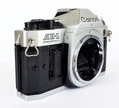 Canon AE-1 Program 35mm SLR Film Camera Body Only