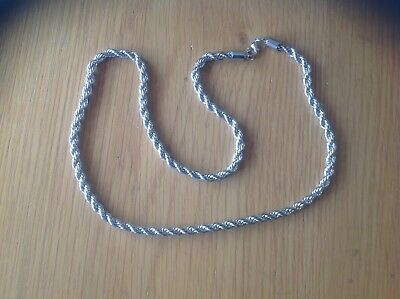 Really Lovely 'ROPE' 22 ins.Necklace Beach ' Detector Find '.see details/photos