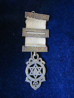 1924  HM SILVER  Antique  ROYAL ARCH CHAPTER Jewel in VGC