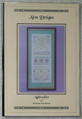 """""""Aphrodite"""" Hardanger and speciality stitch sampler - chart and teaching book"""