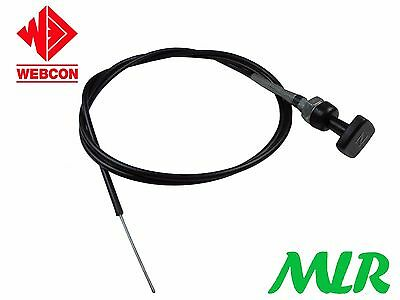 "Genuine Weber Choke Cable 54"" Morris Minor Marina Oxford Aue"