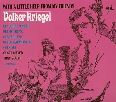 Volker Krieger - With A Little Help From My Friends (CD) - Jazz